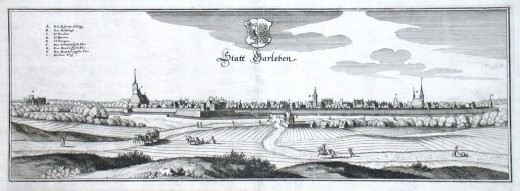 Statt Barleben - Alte Landkarte
