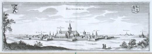 Brovcbvrch - Alte Landkarte