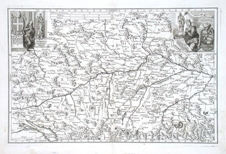Svevia - Bavaria - Stará mapa