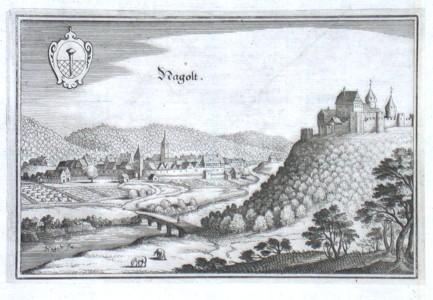 Nagolt - Stará mapa