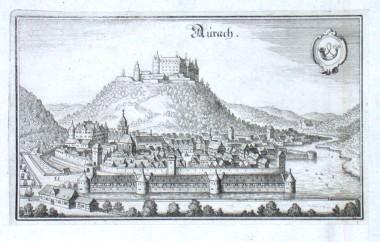 Aurach - Stará mapa