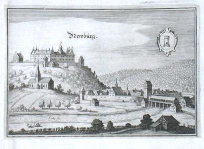 Newburg - Alte Landkarte