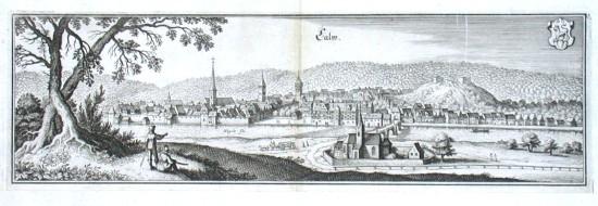 Calw - Alte Landkarte