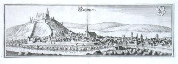 Vaihingen - Alte Landkarte
