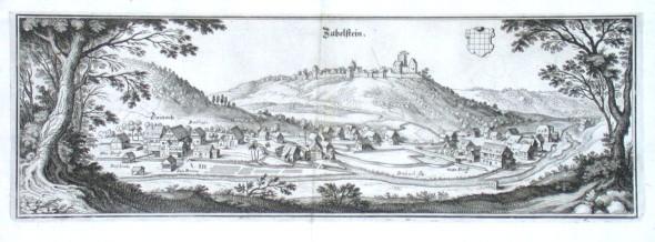 Zabelstein - Alte Landkarte