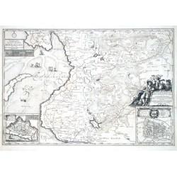 Landtcarte Von dem Sudertheill Dithmarschen. Anno 1648