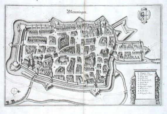 Memmingen - Stará mapa