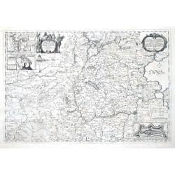 Landcarte Vom Süderntheil des Wagerlandes