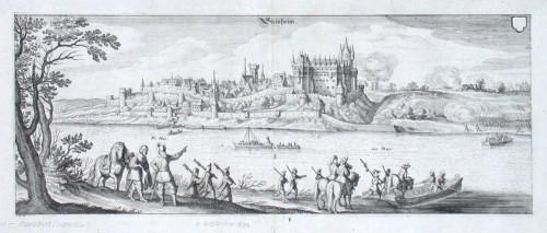 Steinheim - Alte Landkarte