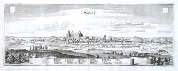 Weissenfelß - Stará mapa