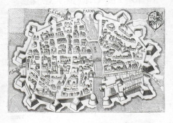 Parma - Alte Landkarte
