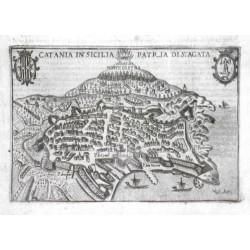 Catania in Sicilia patria di S. Agata