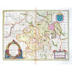 Carte du Pais de Retelois