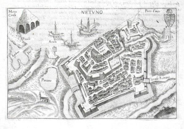 Netuno - Stará mapa
