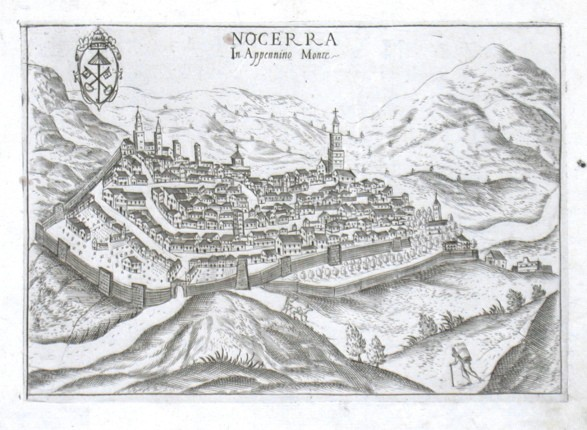 Nocerra in Appennino Monte - Stará mapa