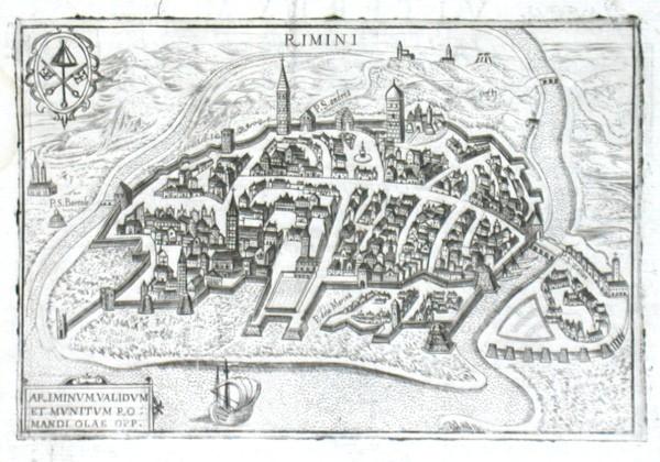 Rimini - Stará mapa