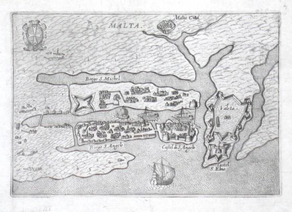 Malta - Alte Landkarte