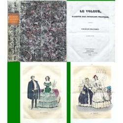 Le Voleur, Gazette des journaux francais. Anée 1843.