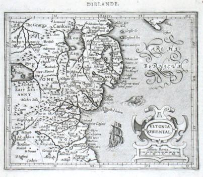 Vltonia Oriental - Alte Landkarte