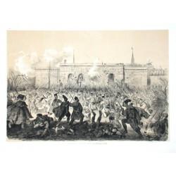 Erstürmung des Burgthores in Wien am 31. October 1848