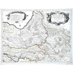 La Veluwe, La Betuwe, et Le Comté de Zutphe dans Le Duché de Gueldre
