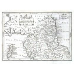 Northumbria, Cumberlandia, Dunelmensis episc. Westmorlandia, et Mania Ins.