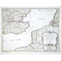 Anciens Royaumes de Kent, d'Essex, et de Sussex: ou sont