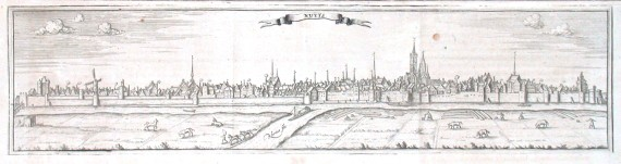 Nuyts - Alte Landkarte