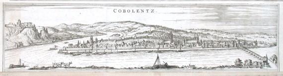 Cobolentz - Alte Landkarte
