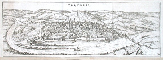 Treveris - Stará mapa