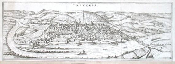 Treveris - Alte Landkarte