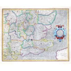 Warwicum, Northhamtonia, Huntingdonia,