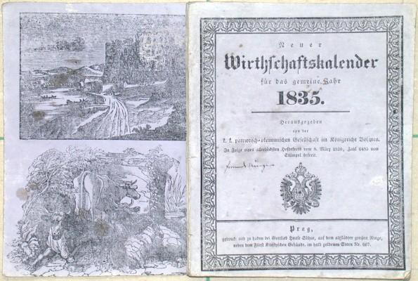 Neuer Wirtschaftskalender für das gemeine Jahr 1835.