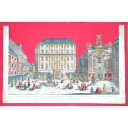 Vue perspective du Palais Visendic et de la fameuse Academie de Peinture et de