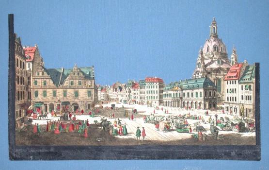Dresden - Stará mapa