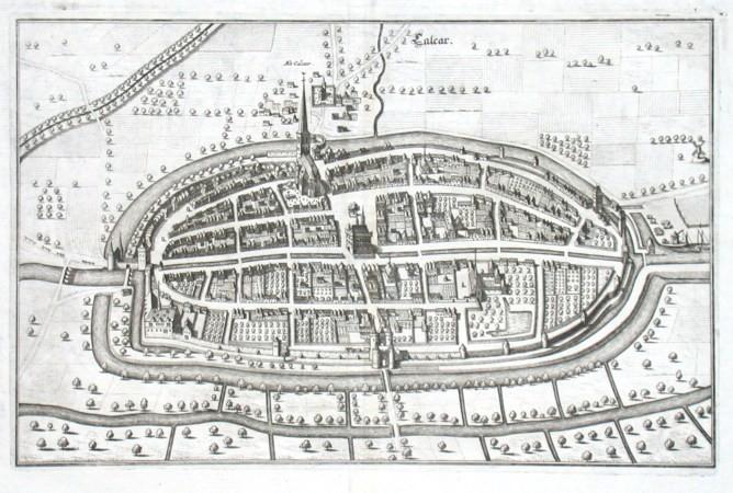 Calcar - Antique map