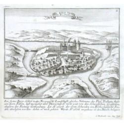 Das Schloss Bahus In Norwegen