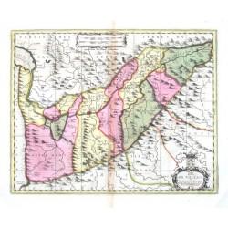 Carte du pais de Vallais, ou Wallisser-Land