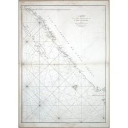 Carte de La Cote Occidentale de l'Isle Sumatra