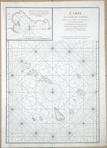 Carte des Isles du Cap-Verd - Alte Landkarte