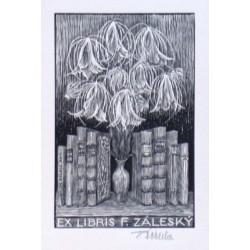 Ex libris F. Záleský