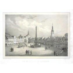 Der Marktplatz in Jaromirsch
