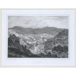 Carlsbad vom Belvedere aus