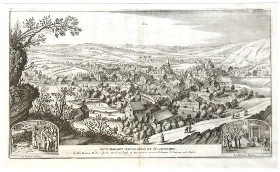 Spa - Stará mapa