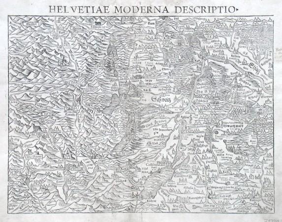 Helvetiae moderna descriptio