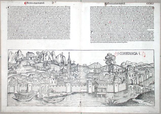 Constancia - Stará mapa