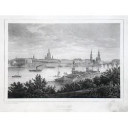 Dresden von der Bairbastei aus
