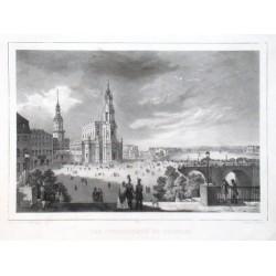 Der Schlossplatz zu Dresden