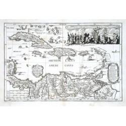 Archipelagi Americani delineatio geographica