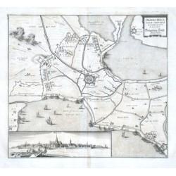 Obsidio Hulstenae ciuitatis et fortality  Belagerung Hülst. Anno 1645